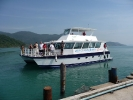 First visit to Koh Chang by the new Nemo Express Catamaran.  Currently being repaired after sinking in a storm in October.