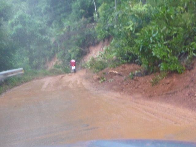 More mud in heavy rains in August