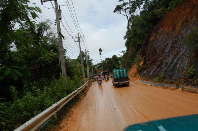 More from the landslide in October