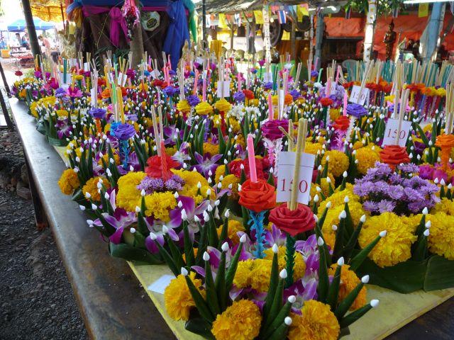 Loy Krathong Festival in November