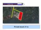 Seafront land for sale