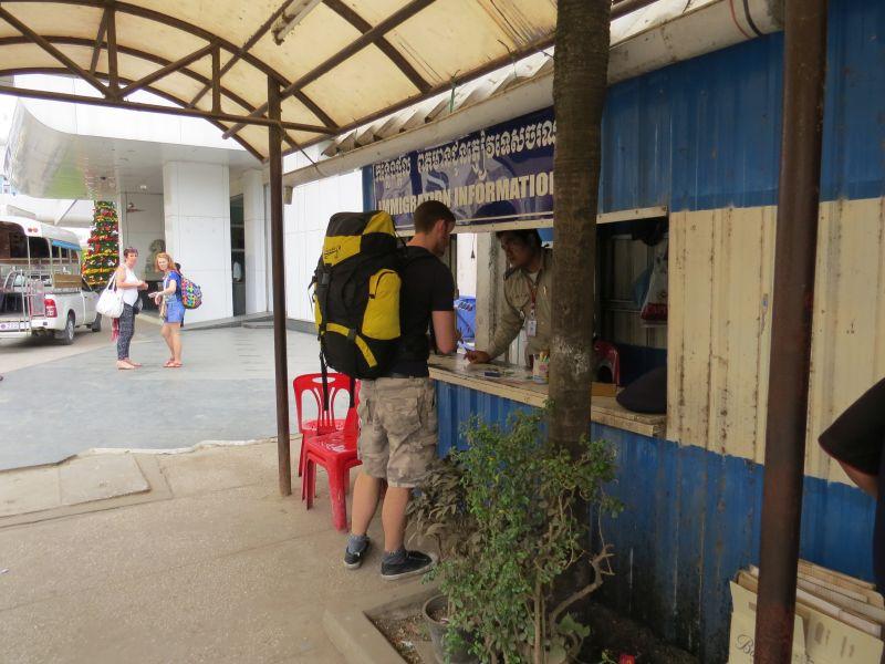Cambodia Immigration information desk
