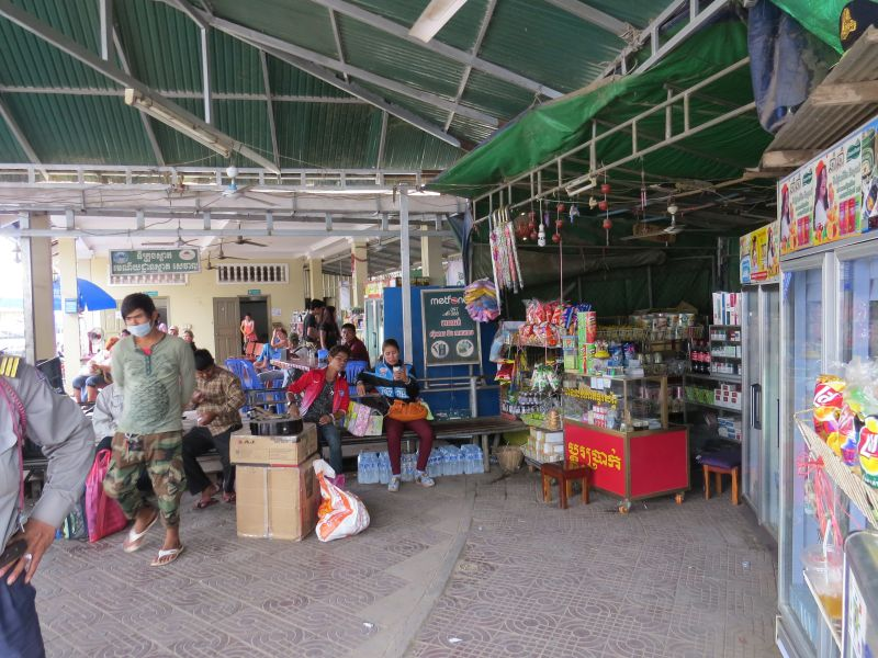 You\'ll be told to wait here if you are going by bus or want a government taxi to Siem Reap
