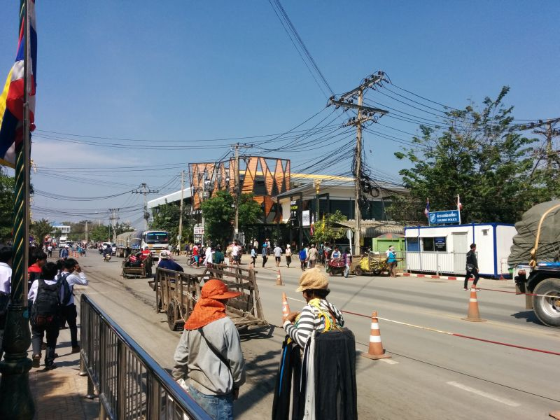 Inside Thailand, back to the start
