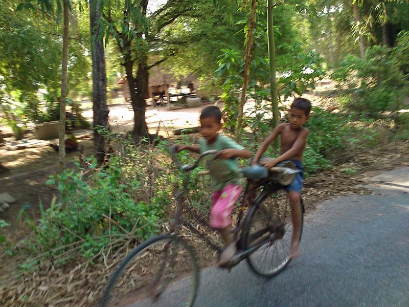 Fellow cyclists