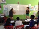 Volunteers at Cambodia Kids School Koh Chang