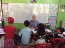 Teaching at Cambodia Kids School Koh Chang
