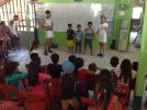 Comedy show at Cambodia Kids School Koh Chang