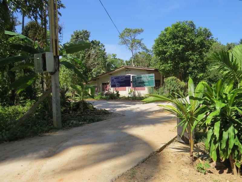 Heading towards the village