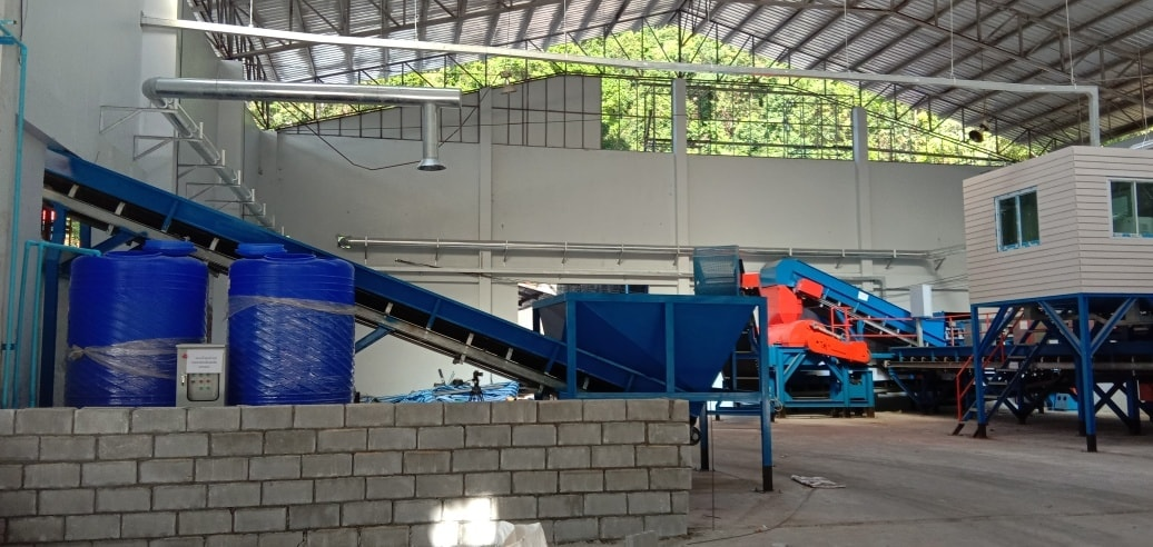 Koh Chang Recycling Garbage Plant