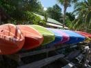 Kayaks at Mam Kai Bae