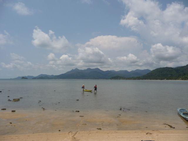 North from koh Man Nai island