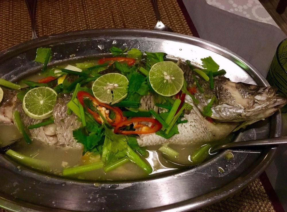 Fish at Kati Culinary