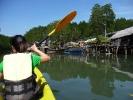 Fishermen\'s homes in Salakkok