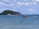 Along Klong Prao beach