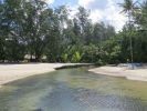 Cross the river by Centara Tropicana Resort