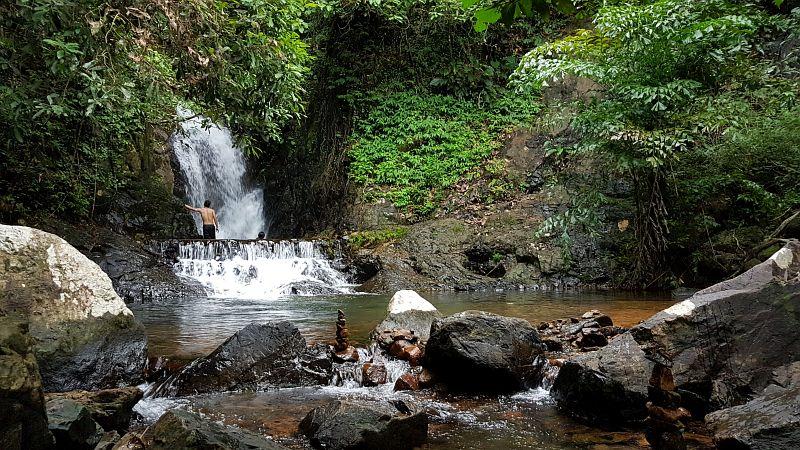 Khiriphet waterfall