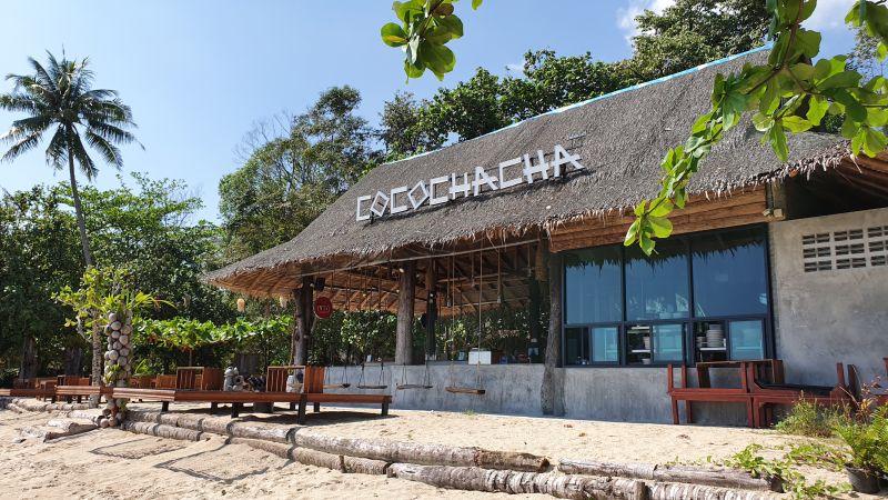 Beach bar at Chivapuri Resort