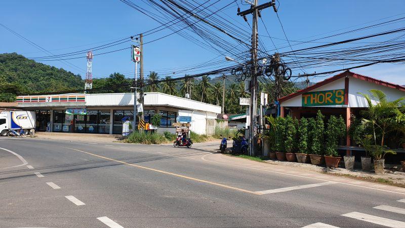 Klong Son city centre