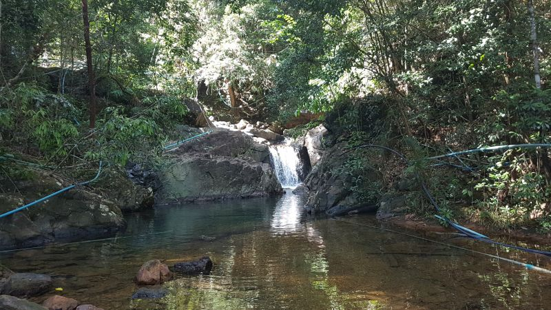 Klong Nonsi waterfall, Dan Mai, Koh Chang