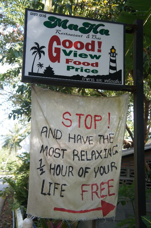 Stop near this bar and take a look