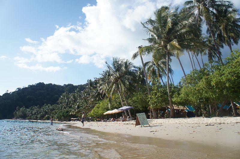 Beach near Zion bar