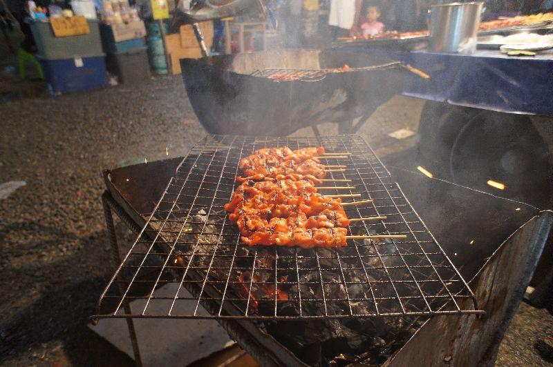 Meats on sticks