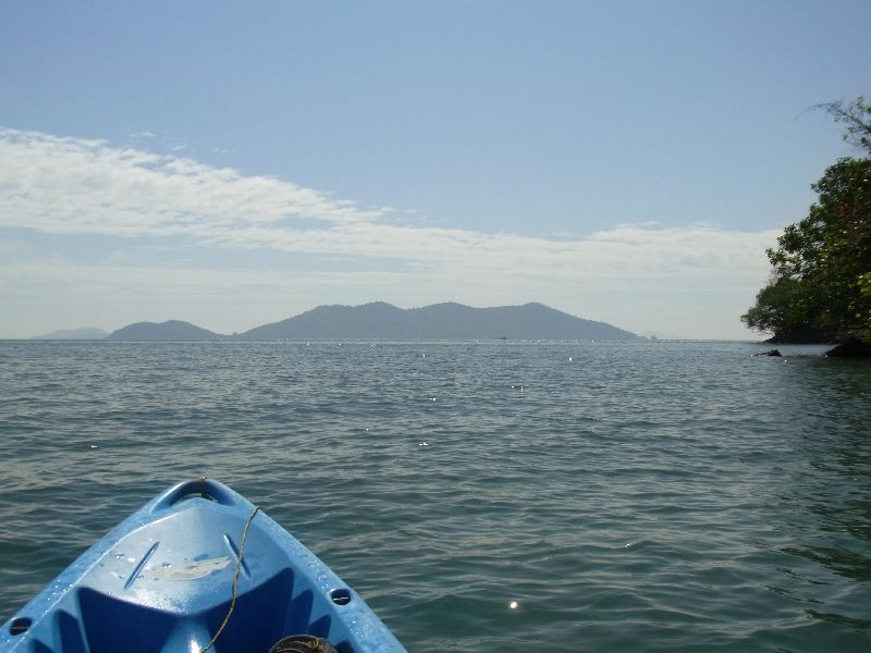 Koh Klum in the distance