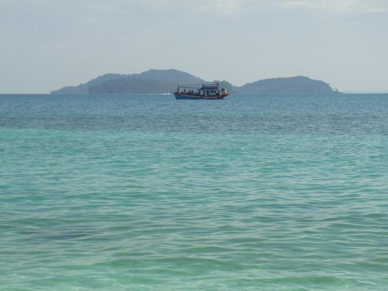 View of Koh Wai from beach
