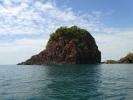 Impressive rock formation at western tip of Koh Klum