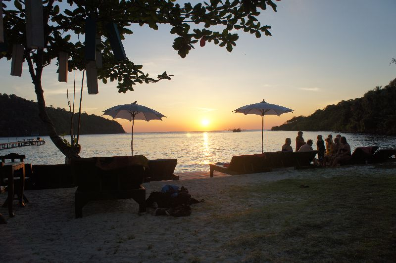 Koh Kood Resort sunset