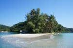 Beach near Captain Hook Resort