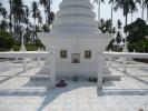 Shrine for family members of island founders