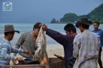 Koh Mak beach cleanup 2012
