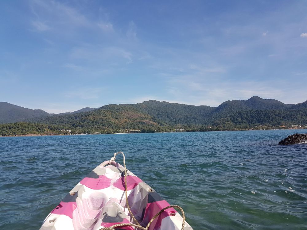 South to Kai Bae beach