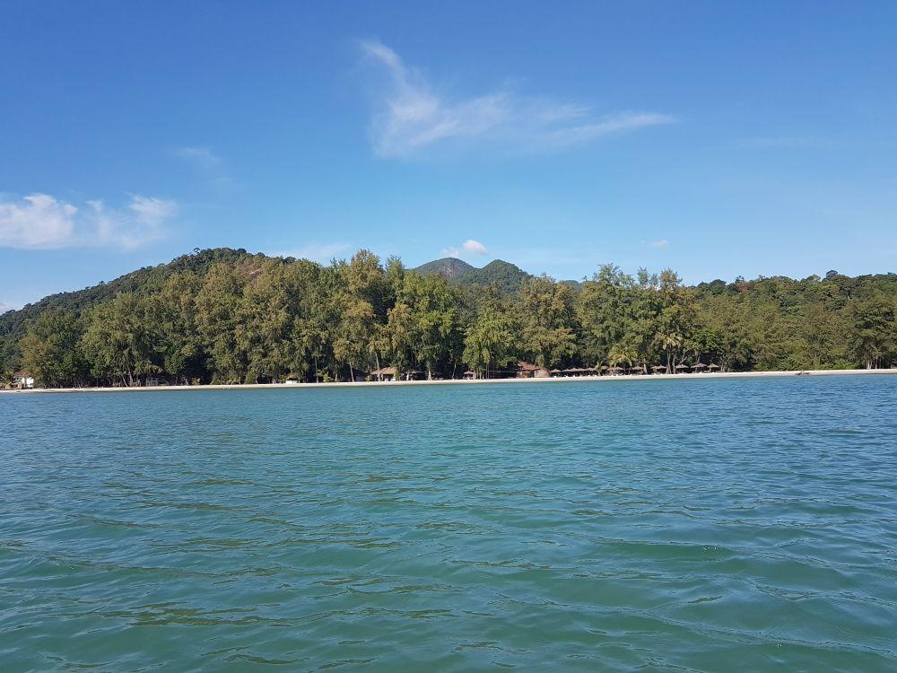 Aana Resort's beach