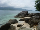 Koh Yuak - look south to Kai Bae, Lonely Beach