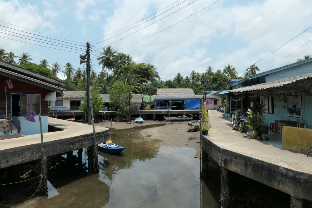 Klong Mad fishing village