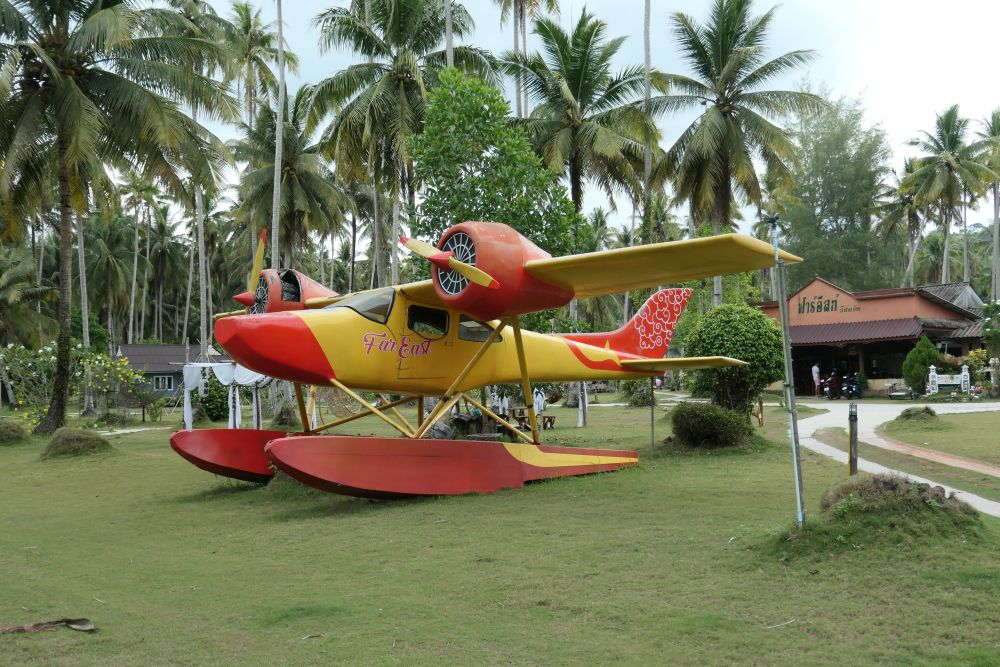 Seaplane at Far East Resort