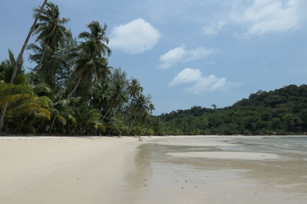 South end of Bangbao beach