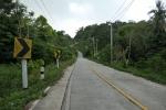 Main road on Koh Kood