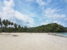 Beautiful beach at Klong Hin Resort