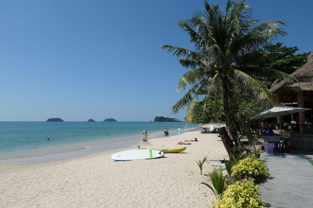 North from Nature Beach Resort