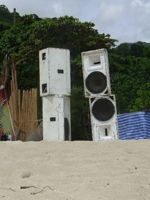 Abandoned speaker system