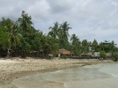 Siam Hut & stoney beach