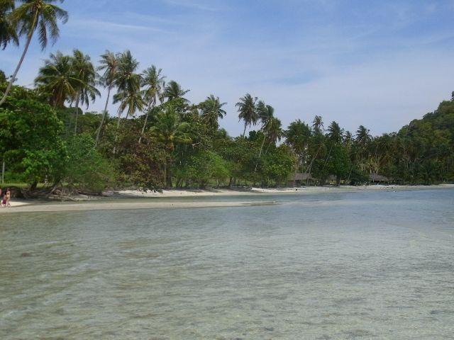 North of beach