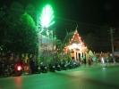 Celebrating the annual Loy Krathong festival on Koh Chang