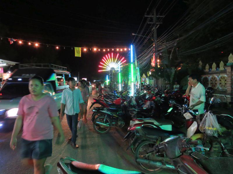 Loy Krathong on Koh Chang