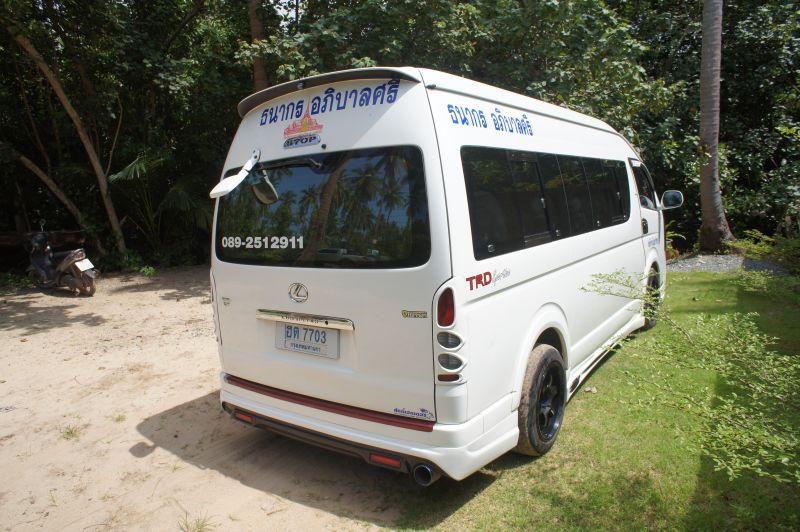 Koh Chang van service
