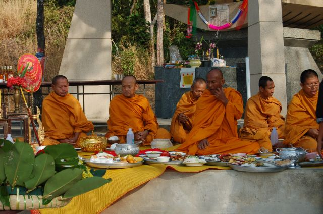 Monks getting hungry
